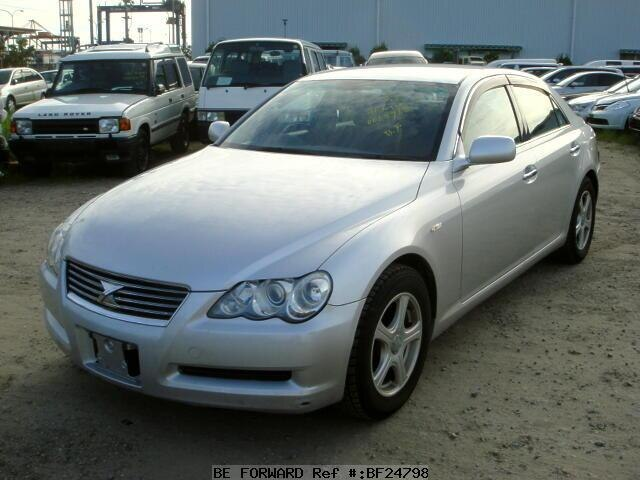 used 2006 toyota mark x 250g dba grx120 for sale bf24798 be forward. Black Bedroom Furniture Sets. Home Design Ideas
