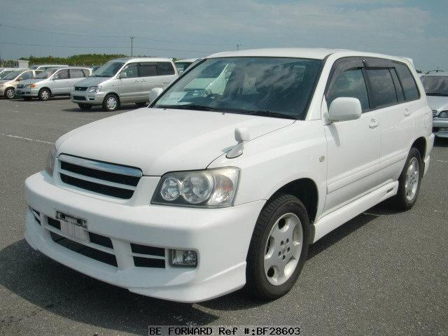 Used 2002 TOYOTA KLUGER V BF28603 for Sale