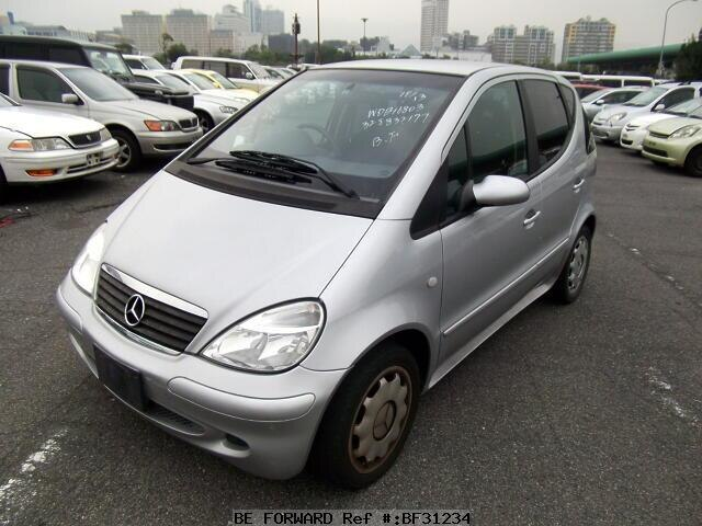 used 2003 mercedes benz a class a160 gh 168033 for sale bf31234 be forward. Black Bedroom Furniture Sets. Home Design Ideas