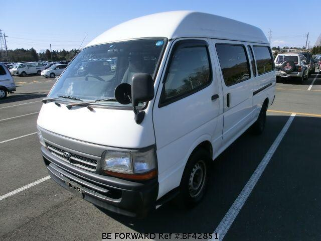 Used 2001 TOYOTA HIACE VAN BF42851 for Sale