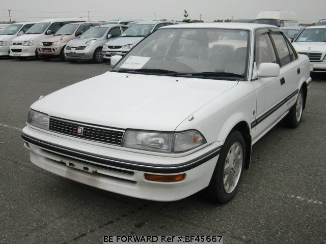 Used 1989 Toyota Corolla Sedan Se Limited  E