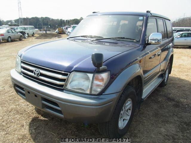 Used 1999 TOYOTA LAND CRUISER PRADO BF45871 for Sale