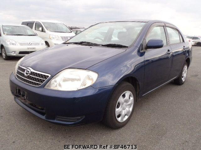 Used 2001 TOYOTA COROLLA SEDAN BF46713 for Sale