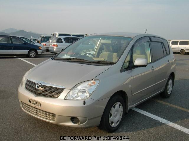 Used 2002 TOYOTA COROLLA SPACIO BF49844 for Sale