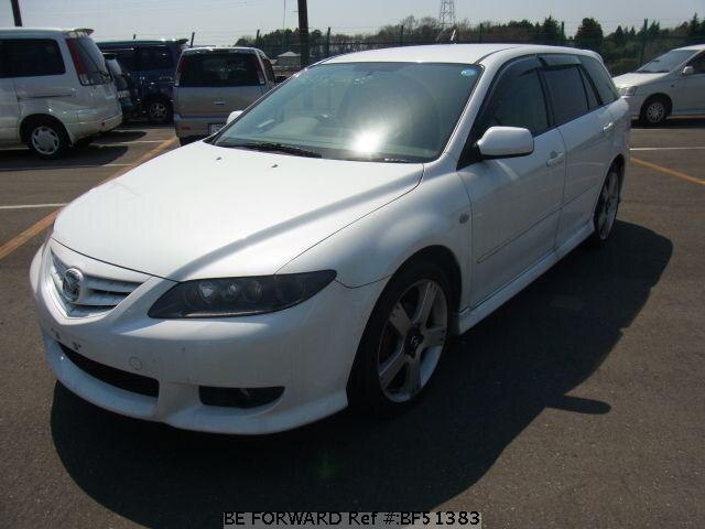 Used 2004 MAZDA ATENZA SPORT WAGON BF51383 for Sale