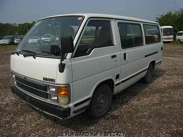 Manuel Auto Parts >> Used 1989 TOYOTA HIACE WAGON/Q-LH61G for Sale BF52427 - BE FORWARD