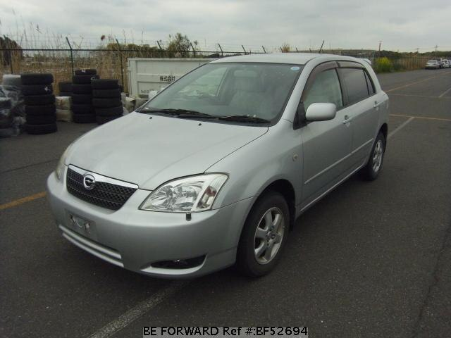 Used 2002 TOYOTA COROLLA RUNX BF52694 for Sale