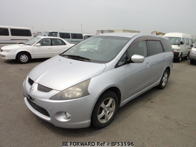 Used 2003 MITSUBISHI GRANDIS BF53596 for Sale