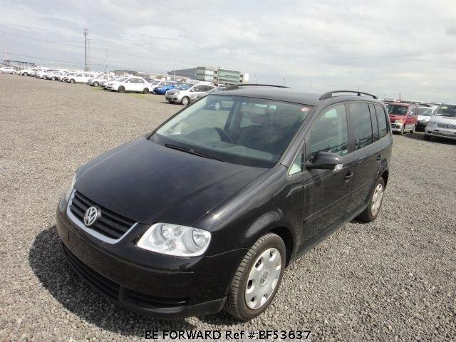 Used 2004 VOLKSWAGEN GOLF TOURAN BF53637 for Sale