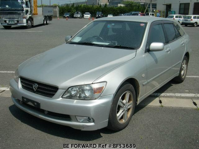 Used 2002 TOYOTA ALTEZZA GITA BF53689 for Sale