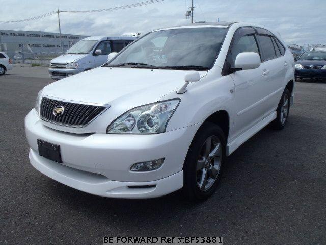 Used 2003 TOYOTA HARRIER BF53881 for Sale