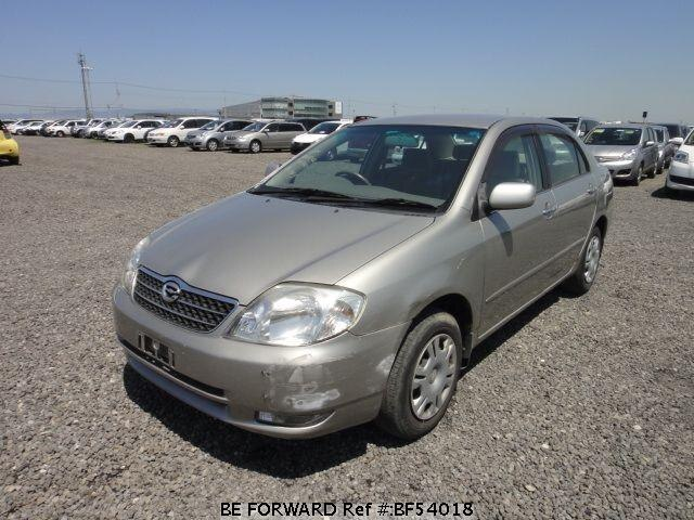 Used 2001 TOYOTA COROLLA SEDAN BF54018 for Sale