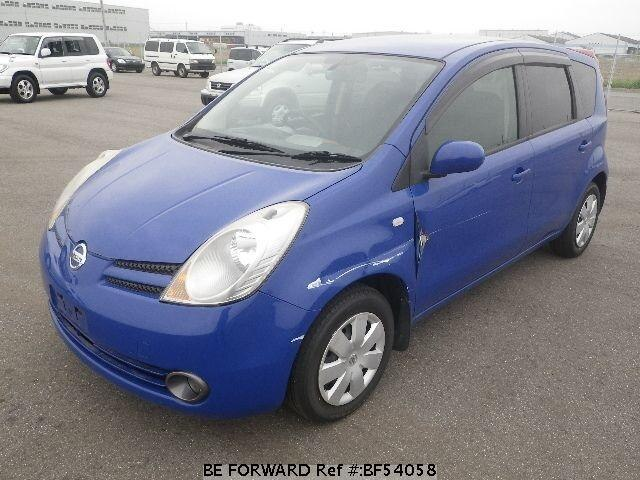 Used 2005 NISSAN NOTE BF54058 for Sale