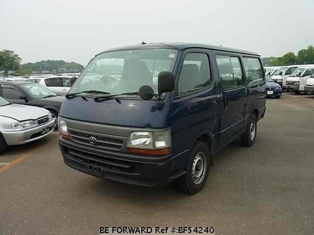 Used 2003 TOYOTA HIACE VAN BF54240 for Sale