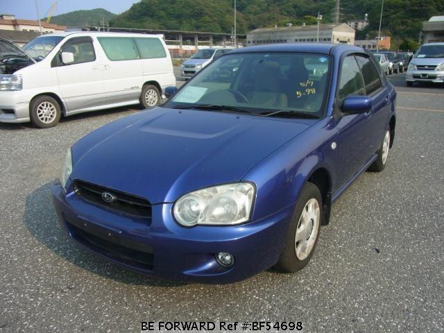 Used 2003 SUBARU IMPREZA SPORTSWAGON BF54698 for Sale