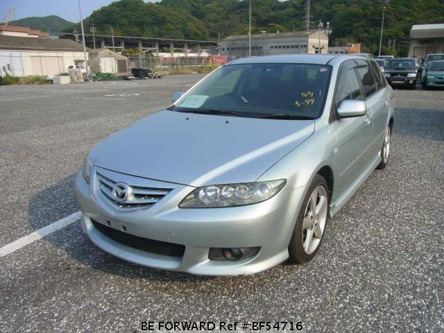 Used 2003 MAZDA ATENZA SPORT WAGON BF54716 for Sale