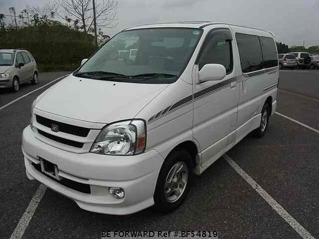 Used 2001 TOYOTA TOURING HIACE BF54819 for Sale