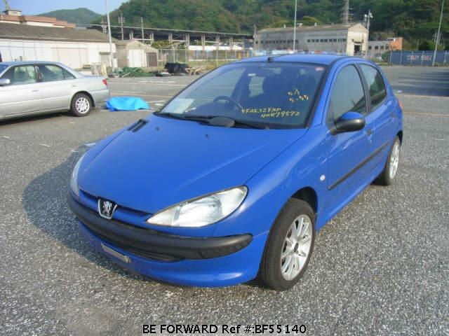 Used 2000 PEUGEOT 206 BF55140 for Sale
