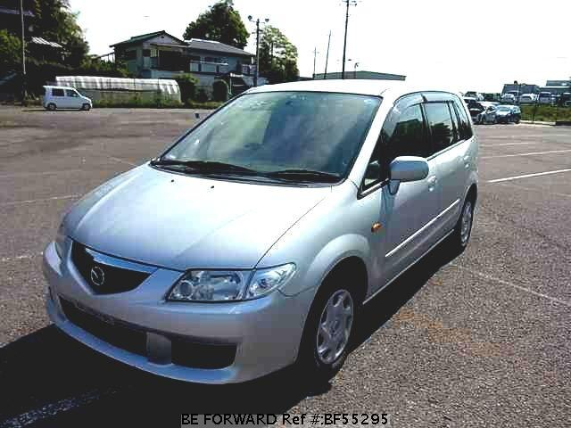 Used 2001 MAZDA PREMACY BF55295 for Sale