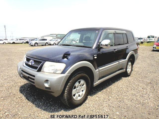 Used 2003 MITSUBISHI PAJERO BF55617 for Sale