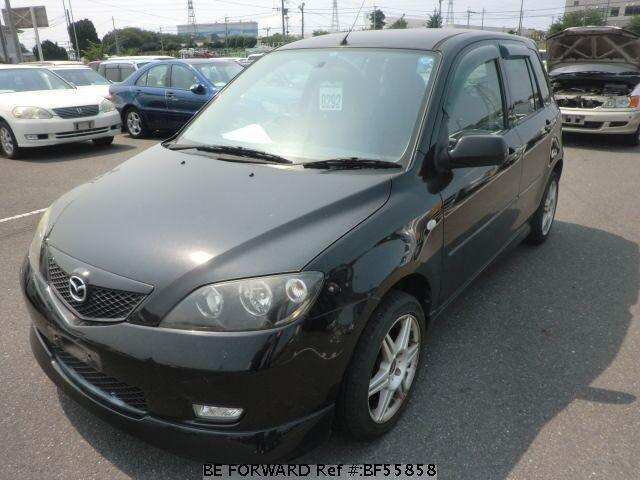 Used 2003 MAZDA DEMIO BF55858 for Sale