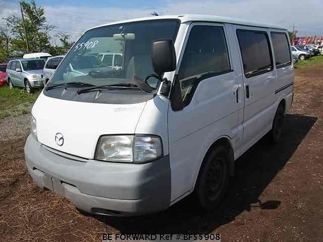 Used 2001 MAZDA BONGO VAN BF55908 for Sale