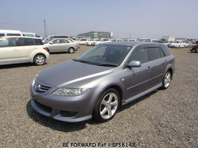 Used 2003 MAZDA ATENZA SPORT WAGON BF56148 for Sale
