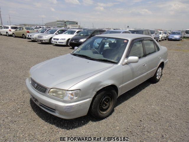 Used 1998 TOYOTA COROLLA SEDAN BF56182 for Sale