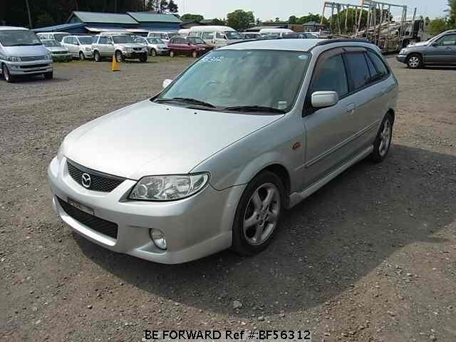 Used 2001 MAZDA FAMILIA S-WAGON BF56312 for Sale