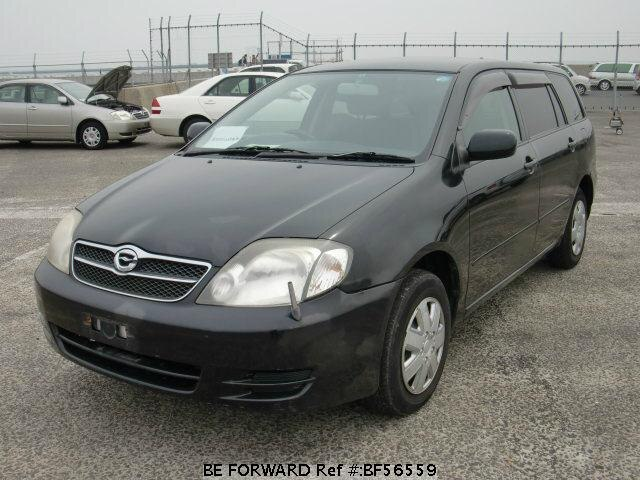 Used 2003 TOYOTA COROLLA FIELDER BF56559 for Sale