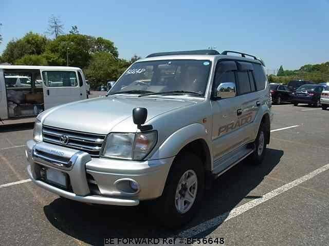 Used 1999 TOYOTA LAND CRUISER PRADO BF56648 for Sale