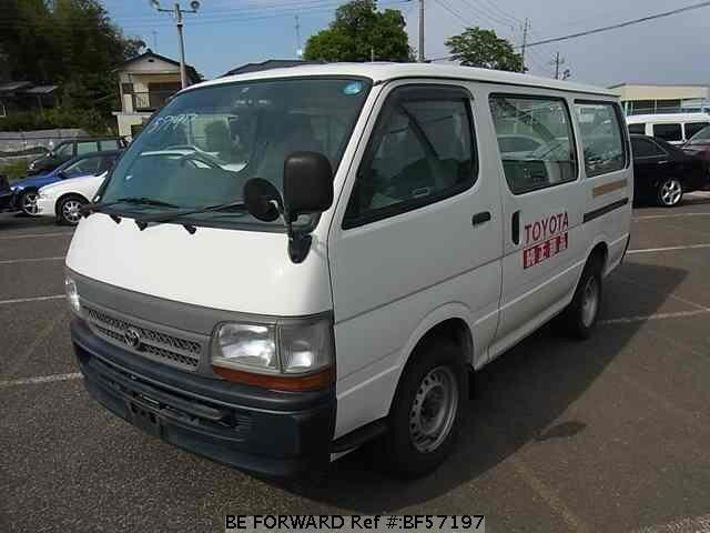 Used 2003 TOYOTA HIACE VAN BF57197 for Sale