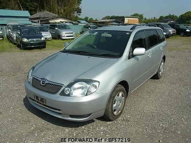 Used 2002 TOYOTA COROLLA FIELDER BF57219 for Sale