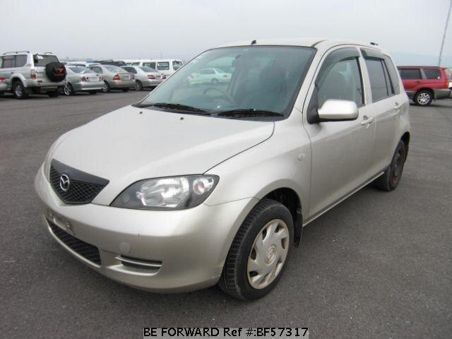 Used 2003 MAZDA DEMIO BF57317 for Sale