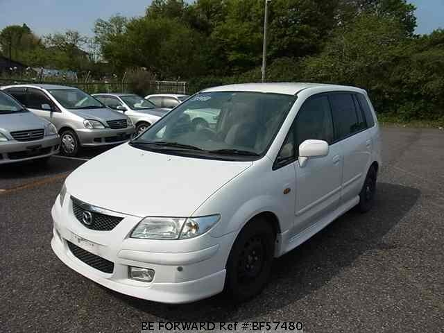 Used 2001 MAZDA PREMACY BF57480 for Sale