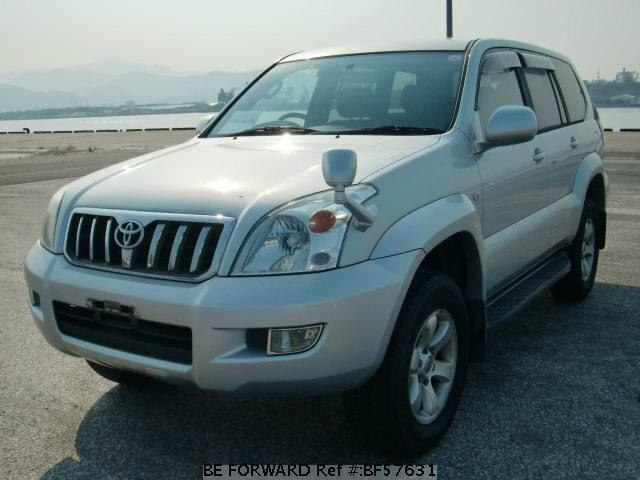Used 2003 TOYOTA LAND CRUISER PRADO BF57631 for Sale