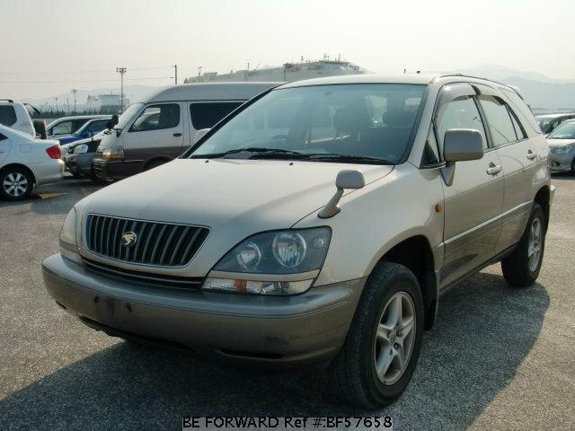 Used 1999 TOYOTA HARRIER BF57658 for Sale