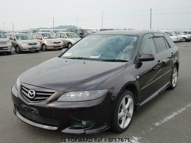 Used 2005 MAZDA ATENZA SPORT WAGON BF57675 for Sale