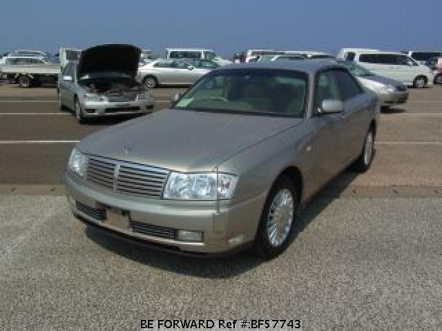 Used 2001 NISSAN CEDRIC SEDAN BF57743 for Sale