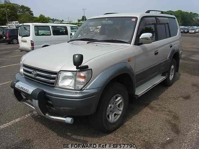 Used 1997 TOYOTA LAND CRUISER PRADO BF57790 for Sale