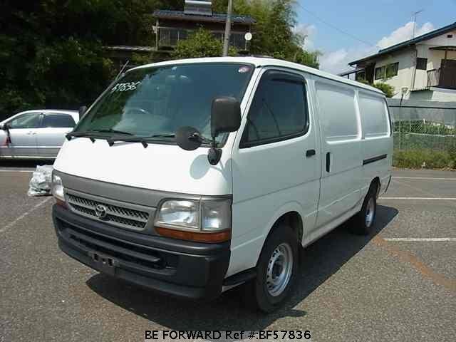 Used 2003 TOYOTA HIACE VAN BF57836 for Sale