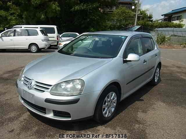Used 2004 VOLKSWAGEN GOLF BF57838 for Sale