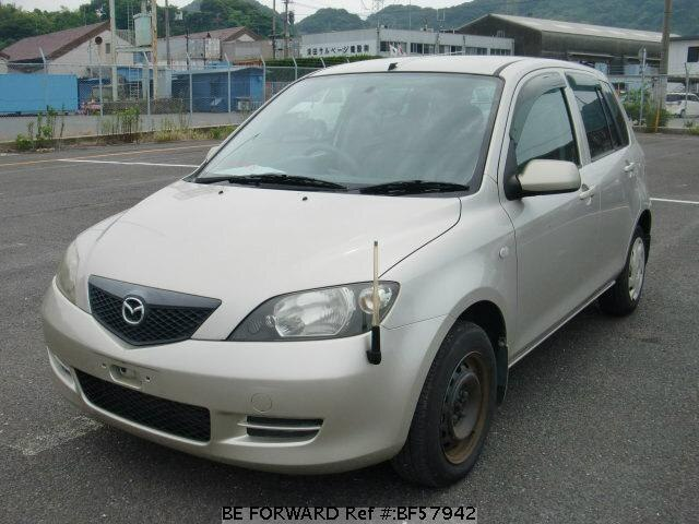 Used 2002 MAZDA DEMIO BF57942 for Sale