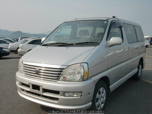 Used 2000 TOYOTA REGIUS WAGON BF58018 for Sale