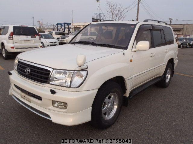 Used 2000 TOYOTA LAND CRUISER BF58043 for Sale