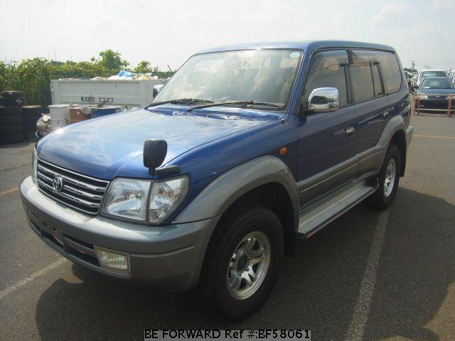 Used 1999 TOYOTA LAND CRUISER PRADO BF58061 for Sale