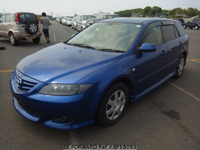 Used 2005 MAZDA ATENZA SPORT WAGON BF58093 for Sale