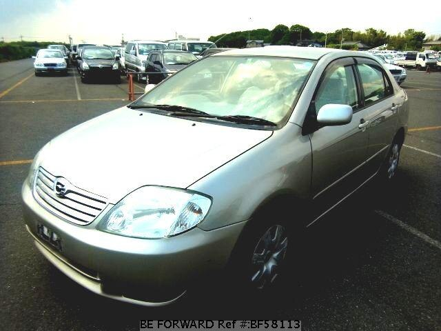 Used 2003 TOYOTA COROLLA SEDAN BF58113 for Sale