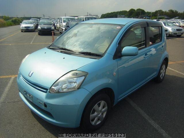 Used 2004 TOYOTA PASSO BF58123 for Sale