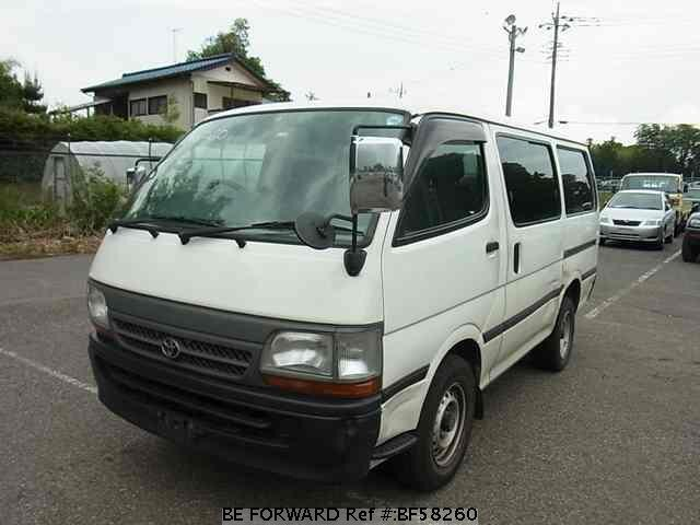 Used 2000 TOYOTA HIACE VAN BF58260 for Sale